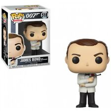 Funko Pop Vinyl James Bond 007 Sean Connery (white Tux) From Goldfinger No 518