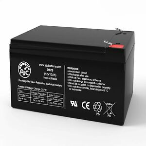 MotoTec 36V Electric Pocket 12V 12Ah Electric Scooter Replacement Battery