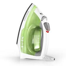 Compact Easy Steam Iron Anti-Drip Nonstick Surface Ergonomic Handle Clothes
