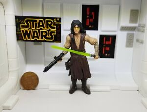 """Star Wars Action Figure Quinlan Vos Comic Pack Batch Legacy #13 Rare 3.75"""" Loose"""