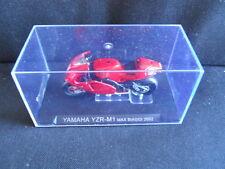 Die Cast Model Moto 1:24 YAMAHA YZR-M1 Max Biaggi 2002 [N3-92 ]