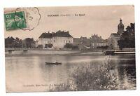 21 - cpa - SEURRE - Le quai   (J121)