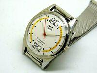 genuine hmt pilot hand winding men steel white dial 17 jewel vintage india watch
