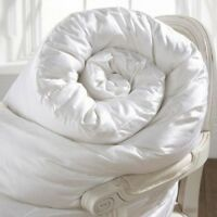 White 85% Duck Feather & 15% Down Duvet Quilt -LUXURIOUS - 13.5 and 15 ALL TOGS