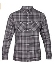 Hurley Men's AAron Flannel Long Sleeve Button-Up Shirt Multi size / Color $55