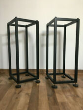 Custom openwork speaker stands