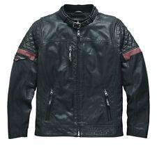97165-17VM Harley-Davidson Hombre Cuero Chaqueta Varick * Nuevo *