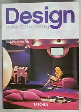"Design of the 20th Century book 2005 Fiell Taschen 7 5/8"" tall furniture objects"