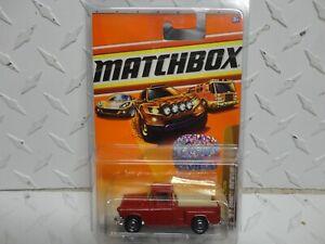 Matchbox CUSTOM Colorado Club Car 1/25 Red '57 GMC Pickup Truck