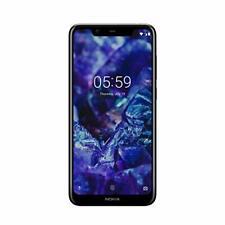 Nokia 5.1 + Plus Sim free 32GB Android Unlocked Smartphone - Blue