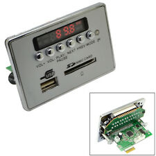 Universal Car Bluetooth Wireless LCD MP3 Decoder Board Audio USB SD Radio Module