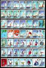 SOLOMON ISLANDS 1987 - COMPLET SETS AMERICA'S CUP / YACHTING MNH
