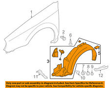 SUBARU OEM 06-07 Impreza-Front Fender Liner Splash Shield Left 59110FE151