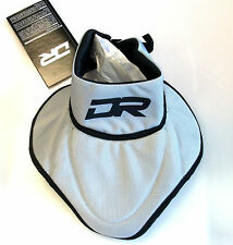 New DR BNQ certified throat protector hockey player neck guard silver Sr. Medium