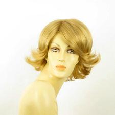 Perruque femme courte blond doré EDWIGE 24B