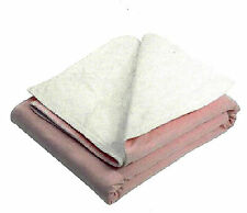 """5 Washable Underpad 36"""" X 52"""",  Reusable Bedpad,  Waterproof, Chux, Potty Pad"""