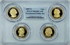 2007-S PRESIDENTIAL DOLLARS PROOF SET $1 PCGS PR69DCAM MULTI-COIN HOLDER