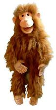 """monkey puppet 26"""" Ventriloquist.Play,Educational.Moving mouth and arm rod"""