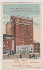 Nyc Hotel Bristol With European & American Plan, West 48Th St. New York City