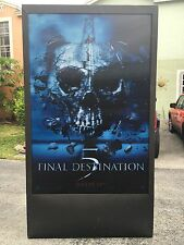 Final Destination 5 3D Lenticular Theater Display Movie Poster AWESOME !!,