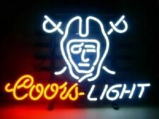 "Las Vegas Raiders Coors Light Neon Sign 20""x16"" Beer Lamp Bar Display Windows"