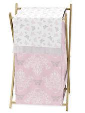 Kids Childrens Clothes Laundry Hamper For Sweet Jojo Alexa Damask Bedding Sets