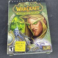 2007 World of WarCraft The Burning Crusade Expansion Set PC