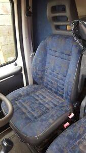 DRIVER'S SEAT 4 PEUGEOT BOXER / CITROEN RELAY MK2  '99 BREAKING VAN