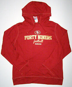 NFL San Francisco 49ers Passion Lightweight Pullover Womens Hoodie Jacket