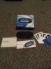 Sony PlayStation Vita- PS Vita PCH-1001 3.68 CIB Complete In Box