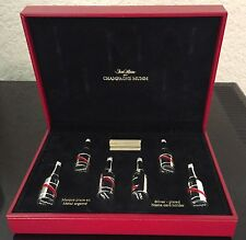 MUMM CHAMPAGNE SAINT HILAIRE SILVER PLATED PLACECARD HOLDERS BOXED RARE