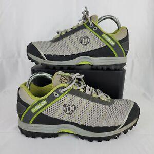 IQ Pearl Izumi X-ALP Seek 5730 Gray Green Cycling Shoes Women Size 8.5 EU 40