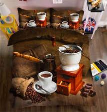 Semen Coffeae 3D Printing Duvet Quilt Doona Covers Pillow Case Bedding Sets
