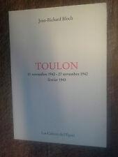 Toulon  Légende contemporaine en trois époques -  Jean-Richard Bloch