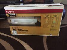 """NuTone Deluxe 36"""" White Range Hood WS136WW New!!!"""