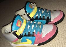 Nike Air 6.0 Mogan Mid Women's UK4 Trainers Sneakers Shoes Grey Blue Yellow Rare