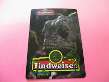 Budweiser Louie The Lizard Playing Card