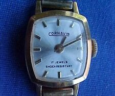 Vintage Womens Cornavin 17 Jewels Mechanical Watch