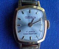 Vintage Womens Cornavin 17 Jewels Mechanical Watch
