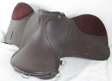 Size14 ABETTA Havana Leather English All Purpose Equestrian Riding Jump Saddle