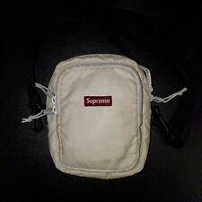 Supreme FW17 Small Shoulder Bag White