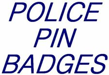 Enamel Police Collectable Badges/Pins