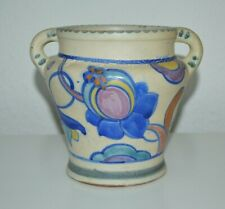 More details for vintage art deco honiton collard pottery urn, vase, no. 48