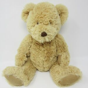 Marks Spencer brown beige tan teddy bear comforter soft toy plush M&S 08464859