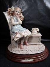 "Capodimonte - A. Belcari Figurine - "" Waiting For Call """
