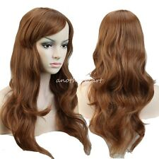 Long Straight Hair Synthetic Full Wig Ombre mix Hair Cosplay Party Costume Wigs