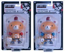 Megahouse Panda-Z Robonimal Rescue Bears 1 & 2 From Japan. Bandai Rare