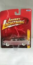 """Rare Johnny Lightning """"White Lightning"""" '57 Chevy Hearse Wagon Mint Carded!"""