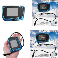 Blue 12V Parking Heater LCD Monitor Switch Timing Function+ Oil Quantity Display