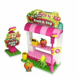 Shopkins Toy The Bridge Direct  Kinstructions Fruit & Veggie Stand